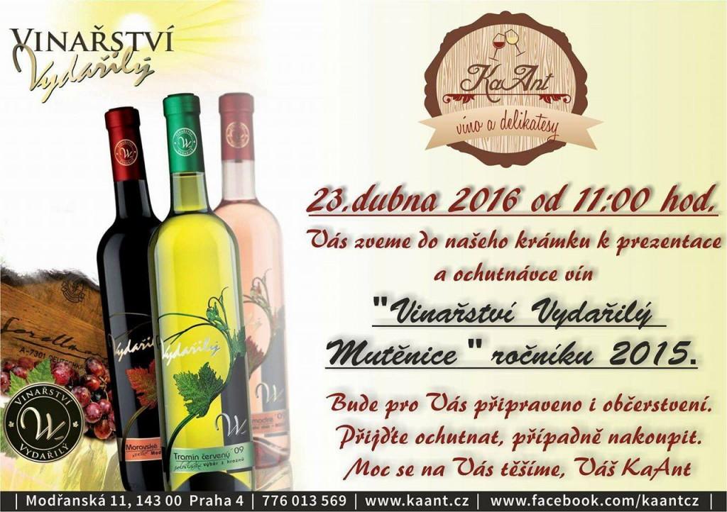 KaAnt - Ochutnávka vín z Mutěnic